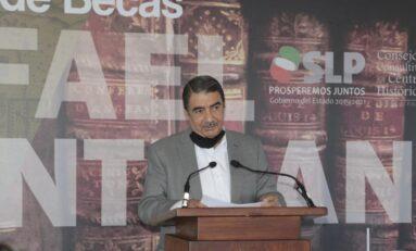 """UASLP respalda impulso para la preservación de la identidad de los potosinos por medio del programa de becas """"Rafael Montejano y Aguiñaga"""""""
