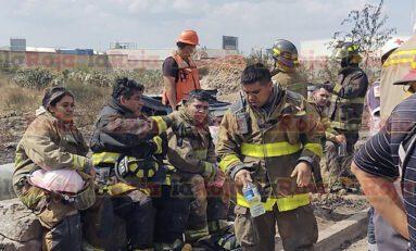 Después de varias horas de intensas labores, se controla incendio registrado en el Sur de la Ciudad