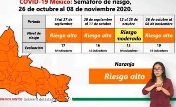 Detallan restricciones en SLP por semáforo naranja; restaurantes deberán cerrar a las 10 de la noche