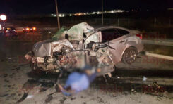 CONDUCTOR PIERDE LA VIDA EN ACCIDENTE AUTOMOVILÍSTICO