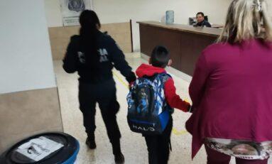 Policías de la UEAVG localizan y rescatan a menor víctima de maltrato infantil