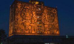 UNAM 'SE PINTA' DE NARANJA POR ELIMINACIÓN DE VIOLENCIA CONTRA LA MUJER