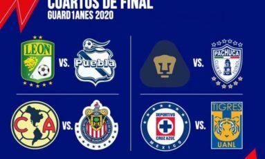 Así se jugará la Liguilla del Guard1anes 2020, habrá Clásico Nacional