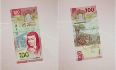 Presentan el nuevo billete de 100 pesos de Sor Juana