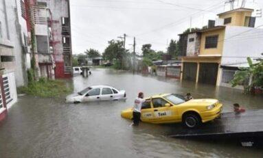 Suman 6 muertos en Tabasco por inundaciones